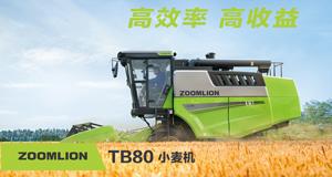 谷王极光TB80小麦收割机