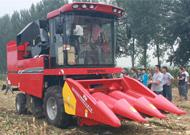 中农博远4YZ-4J自走式玉米收获机