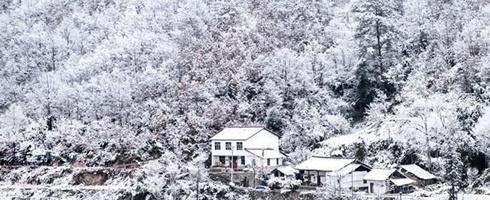 下雪的地方这么多你家还没下雪?