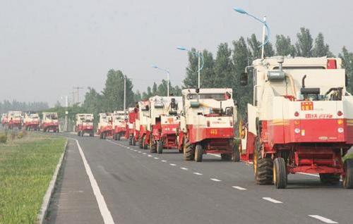 山东省农机跨区作业应急处理预案的通知