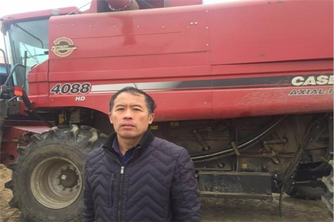 一个作业季收获6000亩,玉米机收达人李忠余又出彩