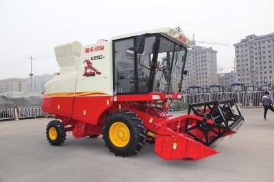 雷沃谷神小麦机再添新秀 GE80-H御势而来