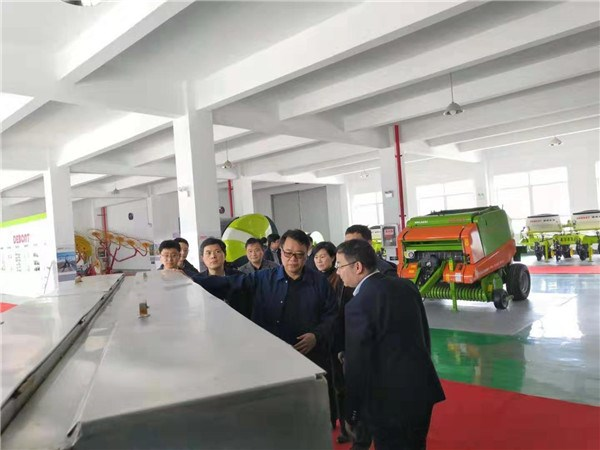 安徽省政府战略性新兴产业评估组莅临德邦大为芜湖公司调研