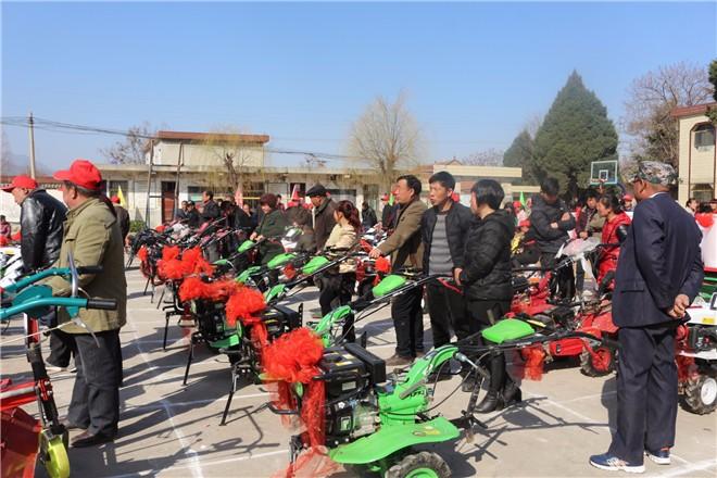 灵宝市农机公司多措并举保障农机春耕物资供应