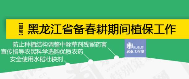 【一图看懂】2019年黑龙江省备春耕植保工作