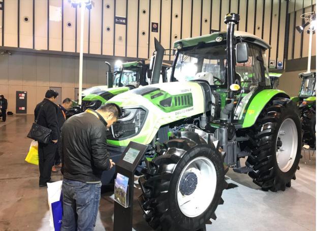 道依茨法尔盛装亮相第十届江苏国际农业机械展览会
