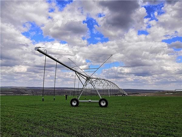 德邦大为俄罗斯知心农场白菜灌溉项目完美运行