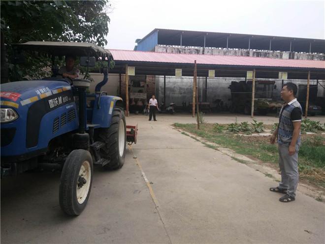 灵宝市农机局热情服务引点