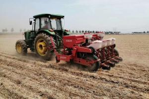 马斯奇奧免耕播种机麦收后直接播种效果!