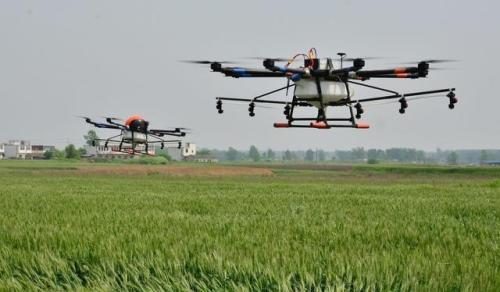 湖南省对植保无人机企业可用补贴额度实行比例控制