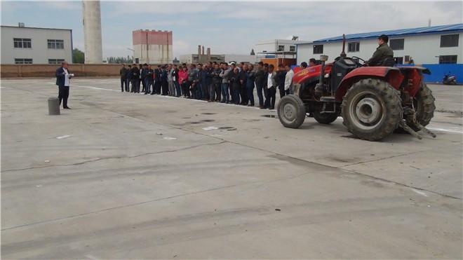 临泽县举办2019年第二期农机驾驶员培训班