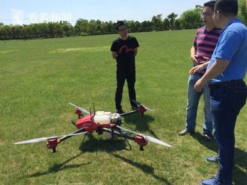 """上海计划每年开展200人次农业无人机""""飞手""""培训"""