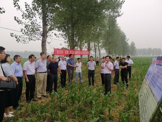 安徽省主要农作物生产全程机械化技术交流推进活动在濉溪举办