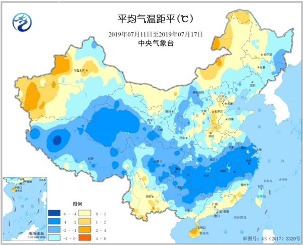 全国农业气象周报:南方大部地区低温寡照和洪涝不利农业生产 未来一周南方由雨转晴 利于农业恢复生产
