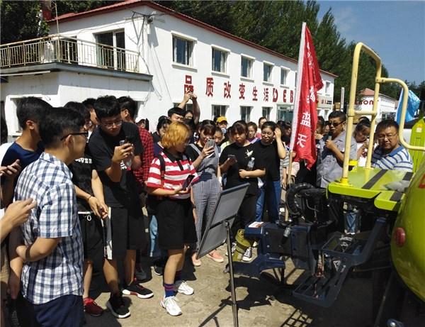 佳木斯大学师生到德邦大为开展校企交流体验活动