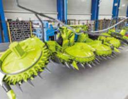 巴德绍尔高工厂探秘:新型 ORBIS 割台