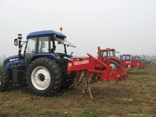 安徽省关于印发农机深松整地工作方案的通知