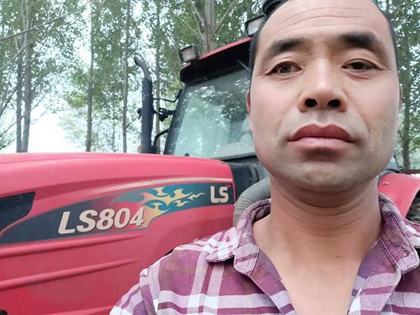 没有故事就是最好的故事!乐星水田型拖拉机使用三年没出故障!