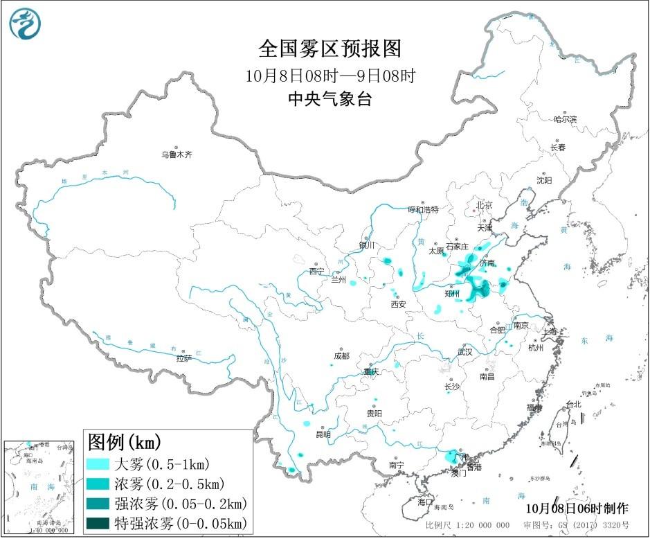 未来三天全国天气预报:西南地区东部陕西南部多阴雨天气  北方多冷空气活动