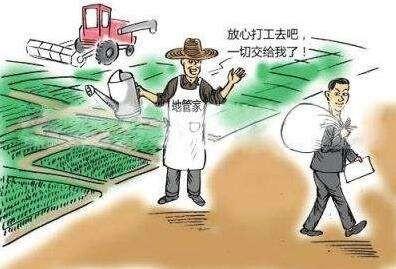 """""""田保姆""""让农民当上""""甩手掌柜"""""""