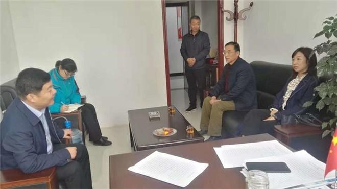 三门峡市农业农村局领导到灵宝市农机局开展调研