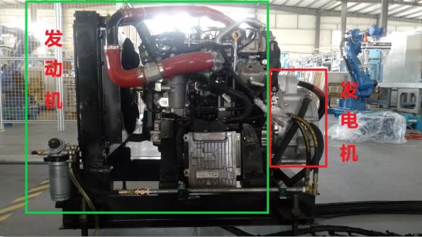 又一绿色成果┃解放动力首台增程式发动机点火发电成功!