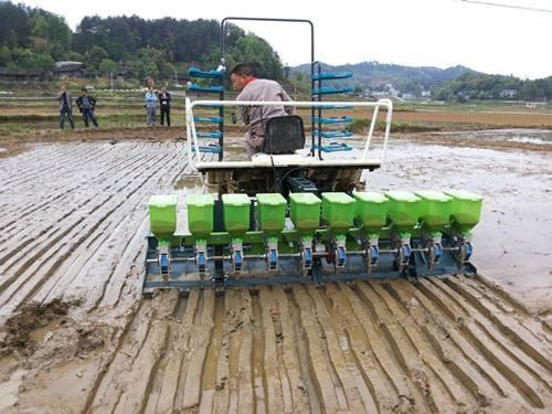 水稻机直播、侧深施肥等技术将在四川省大力推广