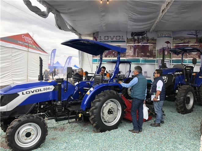 雷沃重工亮相墨西哥瓜纳华托农业博览会