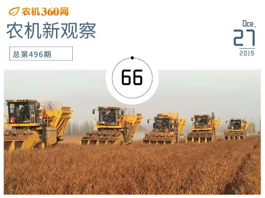 悄然生变,2020年农机行业前瞻