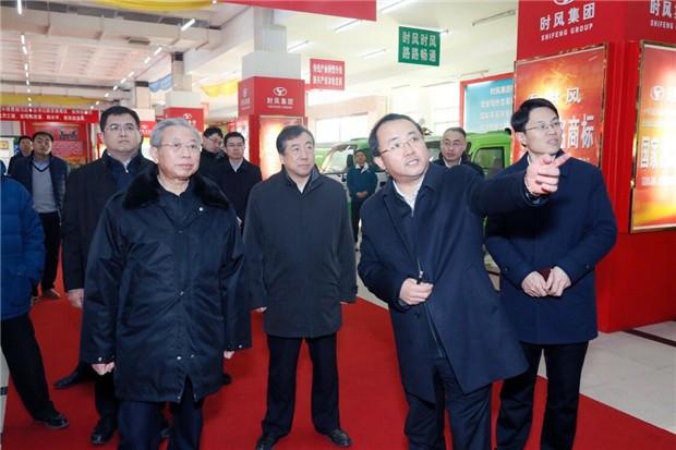 刘家义书记新年第一天视察时风集团