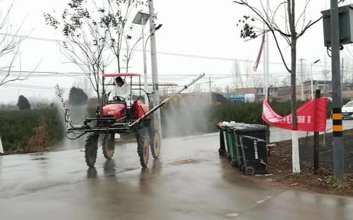 陕西发挥农机行业优势,积极参与肺炎疫情防控