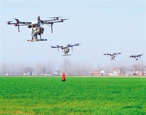 现代农机成为春耕主力军