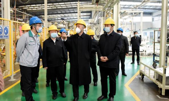 凌文副省长到五征集团调研企业复工复产工作