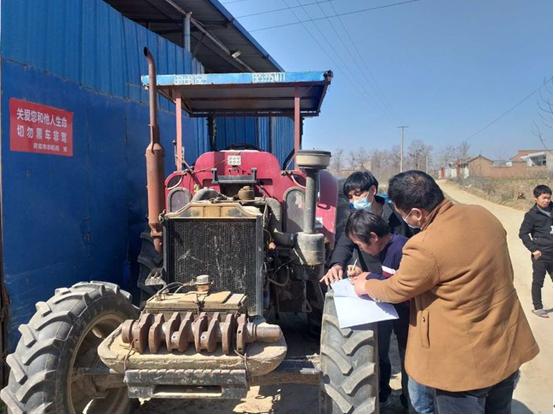靈寶市農機局緊繃春耕農機生產安全弦