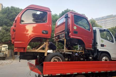 东风多利卡原厂驾驶室总成空壳配件东风轻卡配件供应