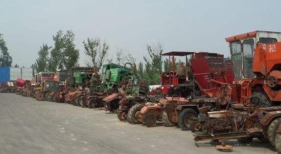 又一补贴创举!安徽省将拖拉机和收获机之外的5类农机纳入报废补贴范围