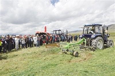 青海省关于做好农机新产品购置补贴试点机具推荐工作的通知