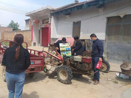灵宝市农机局:农机年检到豫灵