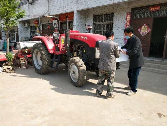 灵宝市农机局农机年检到寺河