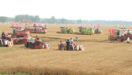 安徽省2020年小麦抢收工作方案