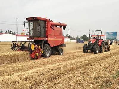 河北省2020年力争粮食总产量达到747.8亿斤,综合机械化率达到83%以上