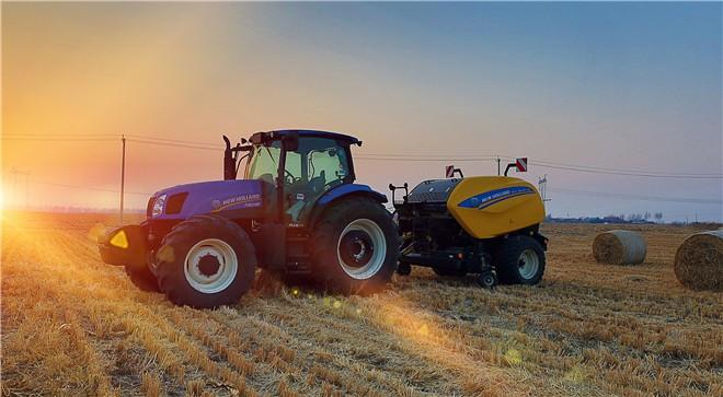 纽荷兰圆捆机荣获2020中国农机行业年度产品创新奖