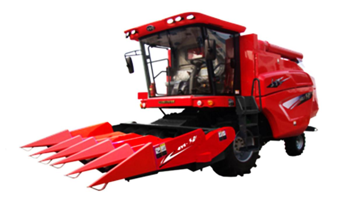 东方红4YL-5A1--5A2-自走式玉米籽粒联合收获机1180