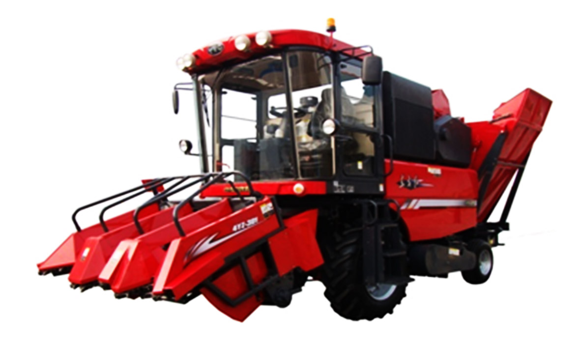 东方红4YZ-3D1自走式玉米收获机