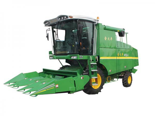 金大丰收获机的价格_金大丰4YZL-5自走式玉米籽粒联合收获机